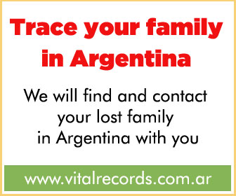 Trace your family in Argentina